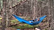 decathlon amaca simple set up with a great low cost hammock