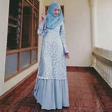 Model Jilbab Gamis Brokat