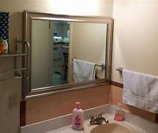ugly bathroom makeover peach brown tiles after photos babycenter