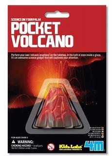 vulkan mit backpulver chemie