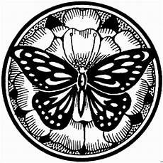 Malvorlagen Gratis Mandala Tiere Schmetterling Mandala Ausmalbild Malvorlage Mandalas
