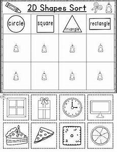 sorting by shape worksheets for kindergarten 7887 back to school kindergarten math worksheets august and september kinder math kindergarten