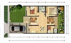 Denah Rumah Minimalis Type 70 1 Lantai Interior Rumah 2158