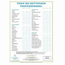Tarif Entreprise De Nettoyage Tarif Nettoyage