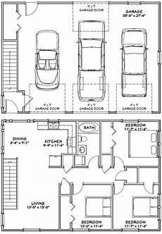 40x28 3 car garage 40x28g10i 1 136 sq ft excellent floor plans in 2019 garage floor
