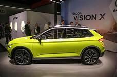 skoda vision x 2018 geneva motor show report autocar
