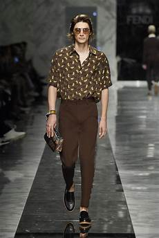 fendi spring summer 2018 men s collection the beep
