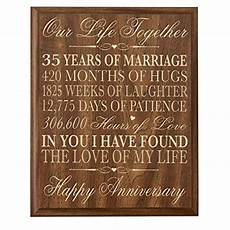 Gifts For 35th Wedding Anniversary