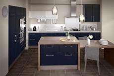 Cuisine Carat Bleu Nuit Cuisine En 2019 Kitchen