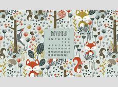 Calendrier novembre 2018 ? November 2018 calendar