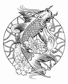 Malvorlagen Fische Karpfen Here Are Difficult Mandalas Coloring Pages For Adults To