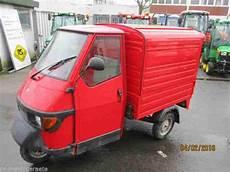 Piaggio Ape 50 Kastenwagen Dreirad Farbe Rot Bestes