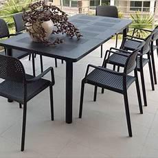 salon de jardin gris anthracite salon de jardin table fauteuil chaise salon de jardin