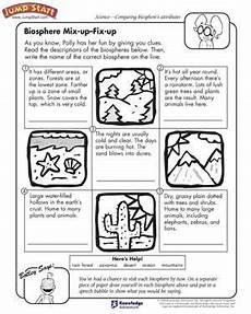 third grade science worksheets for grade 3 12525 science worksheets for 3rd grade biosphere mix up fix up free science worksheet for