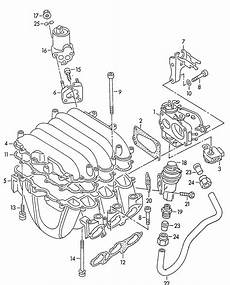 vehicle repair manual 1996 audi riolet engine control 1992 audi audi coupe europe market engine intake manifold throttle valve adapter 2 6 2 8ltr 6