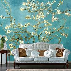 custom 3d mural retro painting flowers photo wallpaper