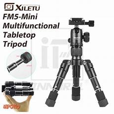 Puluz Pu385 Mini Portable Desktop Aluminium by Xiletu Fm5 Mini Multifunctional Tabletop Tripod Desktop