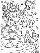 Little Mermaid Coloring Page  Book