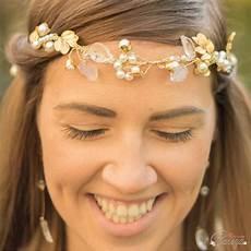 Headband Mariage Chic Perle Cristal Bijou Mariage Nature
