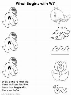 pre k worksheets letter w 24429 w went the washer ms cooper s reading lessons