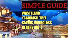 simple guide map and yggdrasil spirit tree in