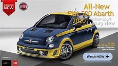 Fiat Neueste Modelle - the 2020 fiat 500 abarth all new luxury minicar