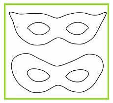 6 karneval masken vorlage 93856 meltemplates