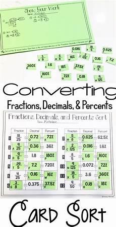 decimals word problems worksheets 7th grade 7562 fractions decimals and percents card sort 7th grade math fractions math expressions