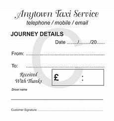dublin taxi receipt template customised taxi stationery for taxi driver and