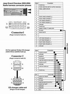 Jeep 7 Pin Wiring Harnes Diagram by Jeep Grand Wj Stereo System Wiring Diagrams
