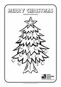 Cool Coloring Pages Christmas Tree No 1 Page