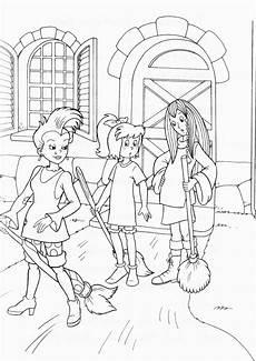 Ausmalbilder Zum Ausdrucken Bibi Und Tina Ausmalbilder Bibi Und Tina Pferde