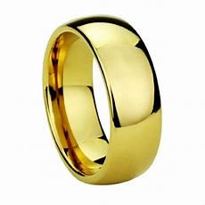 wholesale mix lots 8mm gold color mens tungsten carbide wedding ring for men and alliance