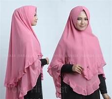 Model Terbaru Khimar Jilbab Instan Syari Ceruti