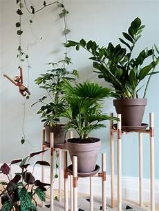 Dschungel F 252 R Zuhause Diy Pflanzenst 228 Nder Aus Kupfer Und