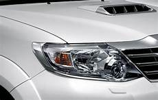 genuine toyota fortuner chrome front head light l cover