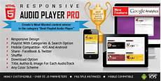html5 audio player pro with playlist jquery plugin plugins visual composer add