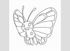 Caterpie Coloring Pages   GetColoringPages.com