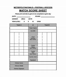 free 11 football score sheet templates in docs ms word pages sheets