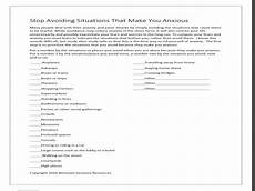 impulse control worksheets for adults free printable worksheets