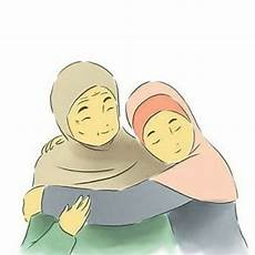 Gambar Kartun Muslimah Anak Dan Ibu Gallery Islami Terbaru