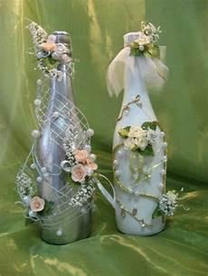 Geschenke Flaschen Liebevoll Verpacken Frau Weinflaschen