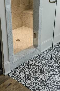 Black And White Mosaic Tile Bathroom black and white mediterranean mosaic bathroom floor tiles