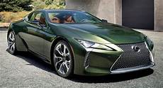 2020 lexus lc 500 goes quot green quot with inspiration series