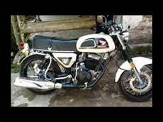 Modifikasi Motor Jadul by Kumpulan Modifikasi Motor Honda Cb 100 Jadul Klasik