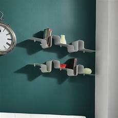 mensole metallo moderne mensola moderna a parete in metallo bianco