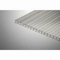 polycarbonate transparent leroy merlin plaque polycarbonate alv 233 olaire 16mm clair 4 x 0 98 m