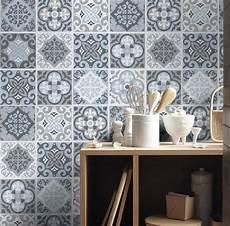 Kitchen Backsplash Stickers Tile Stickers Tile Decals Backsplash Tile Vintage Blue
