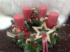 advent kranz rot sterne elch tanne deko weihnachten