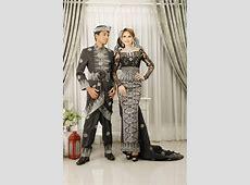 black songket   Baju pengantin
